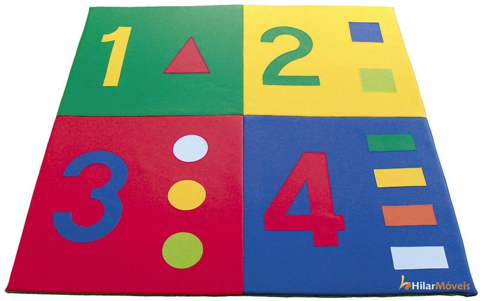 Tapete com Figuras - Números
